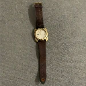 Lucky Brand Leather Watch